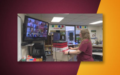 Schools adjust to online teaching during COVID-19