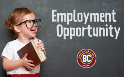 BCS Seeks Preschool Teacher