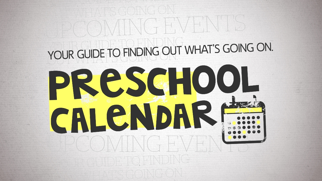 2014-15 Preschool Calendar
