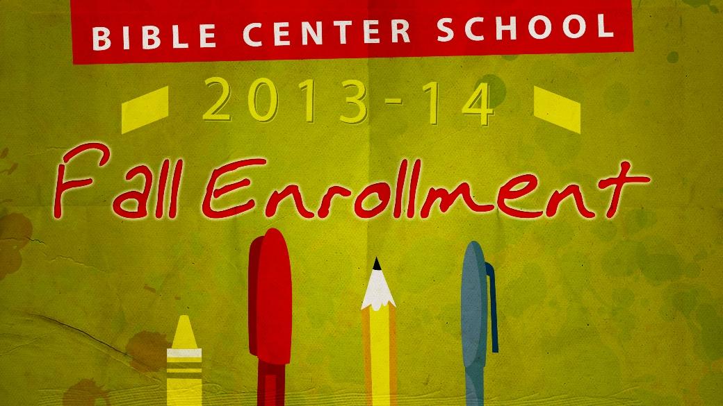 Preschool Fall Enrollment
