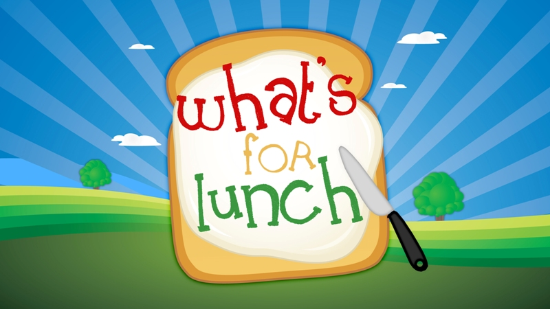 Preschool lunches (August 4-8)