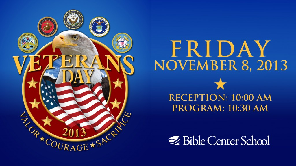 13 Veterans Day Program