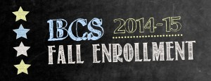 14 fall enrollment