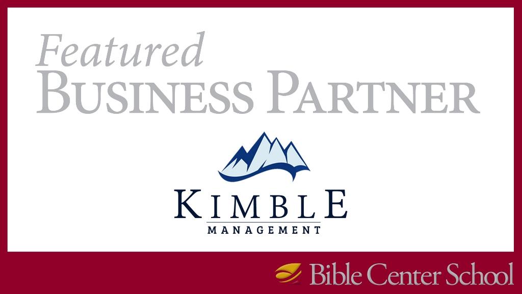 Featured Business Partner: Kimble Management