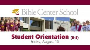 BCS Orientation