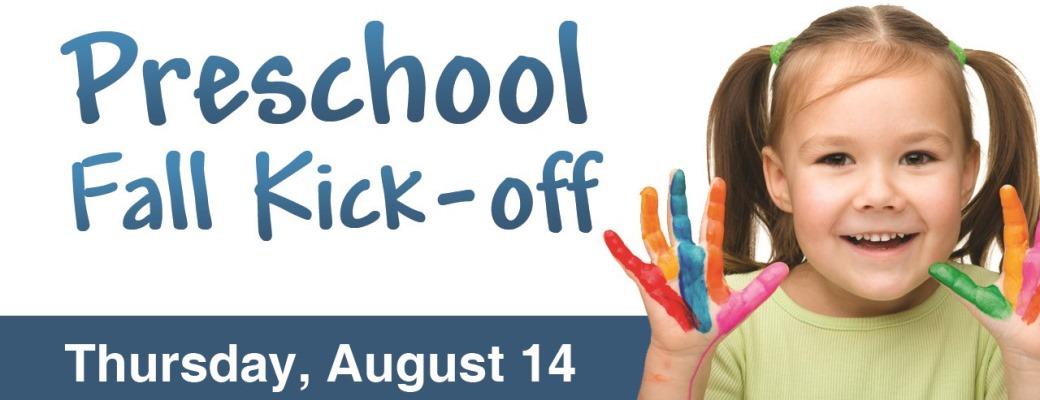 Preschool Fall Kick-off