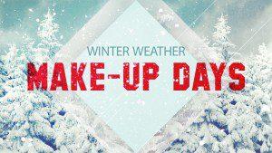 16 Snow Make up Days