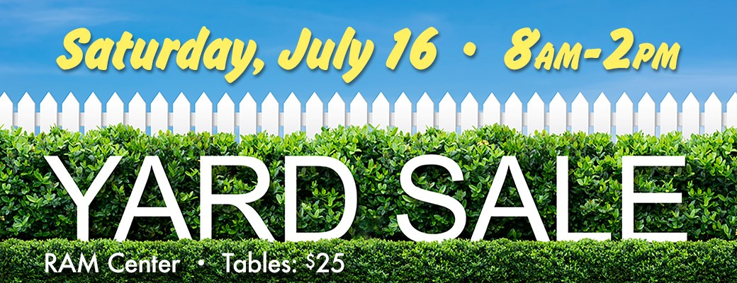 Summer Yard Sale