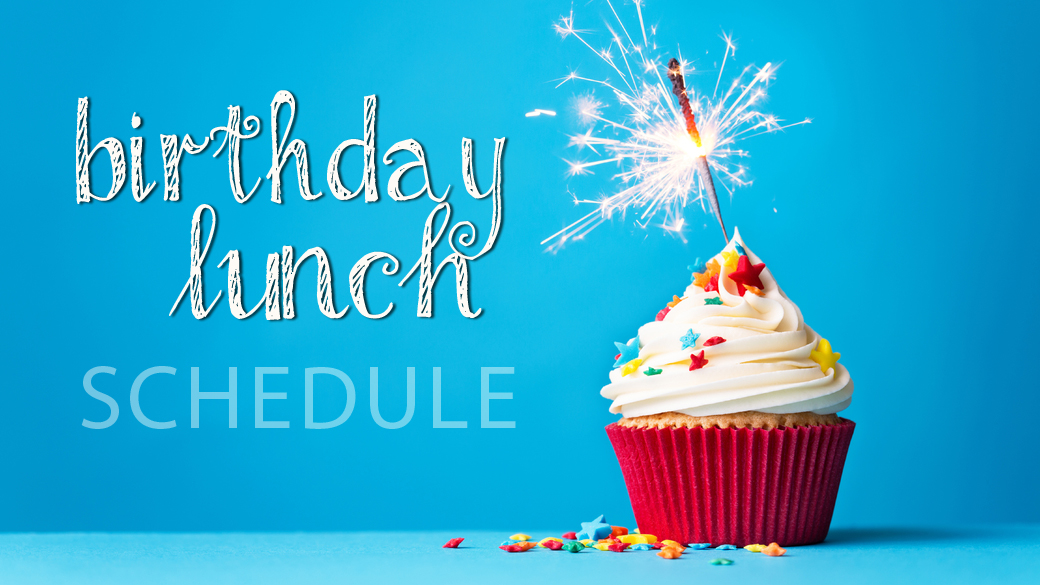 Birthday Lunches 2016-17