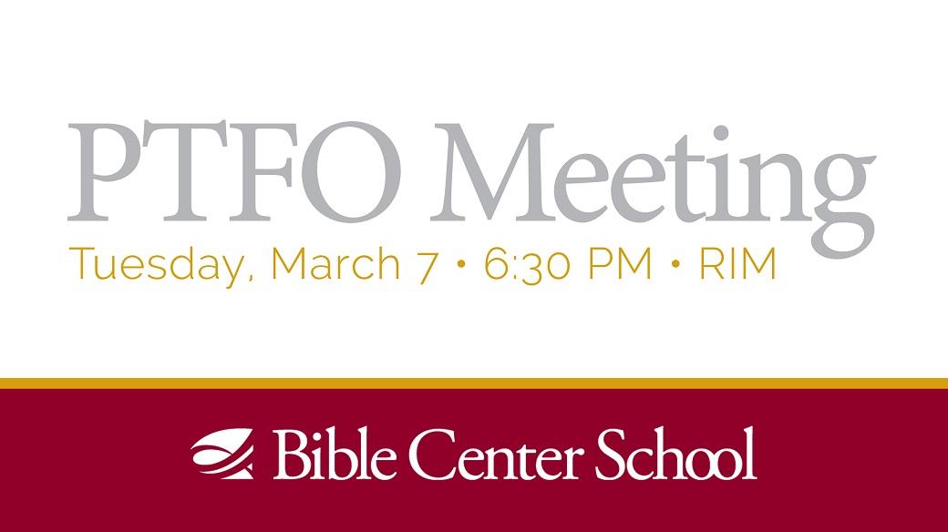 PTFO Meeting