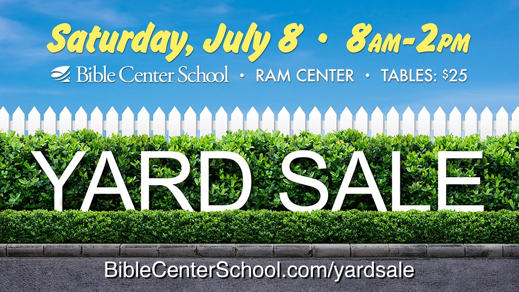 Summer Yard Sale – Reserve Your Spot!