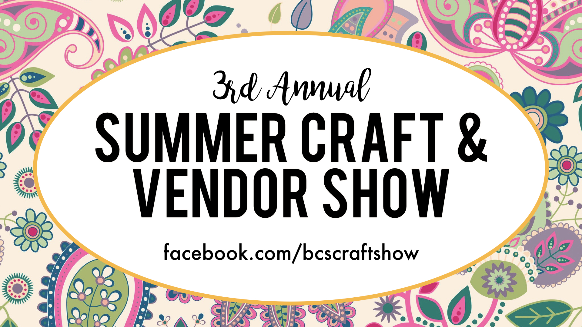 Summer Craft & Vendor Show