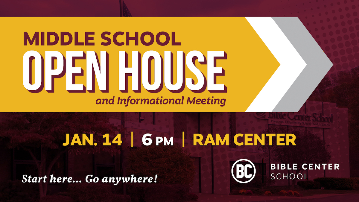 Middle School Open House & Info Meeting