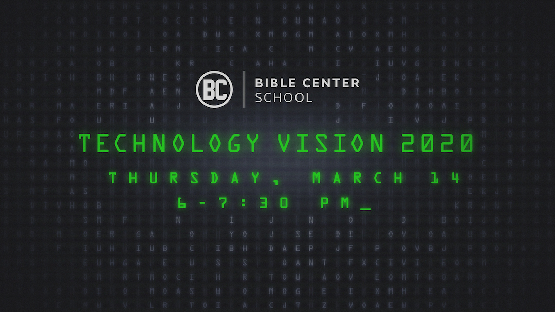 Annual Fundraiser: Tech Vision 2020