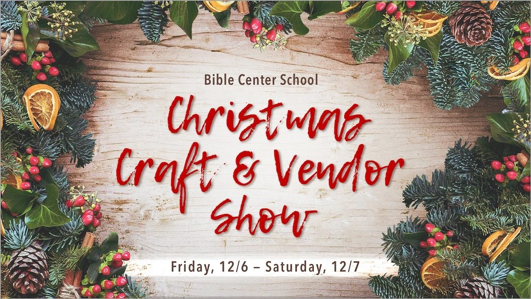 Christmas Craft & Vendor Show