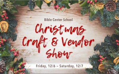 Christmas Craft & Vendor Show