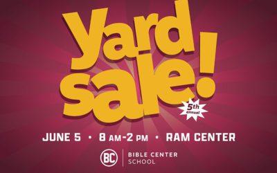 Summer Yard Sale